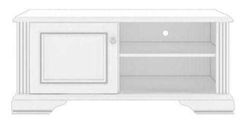 Тумба РТВ 120 «Вайт» | Сосна серебренная