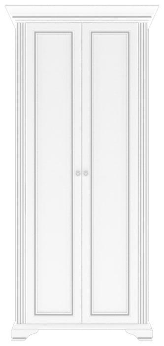Шкаф 2D «Вайт» | Сосна серебренная