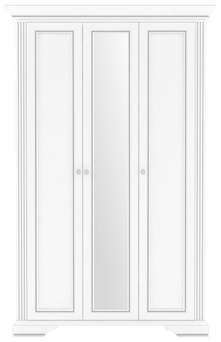 Шкаф 3D(2S) «Вайт» | Сосна серебренная