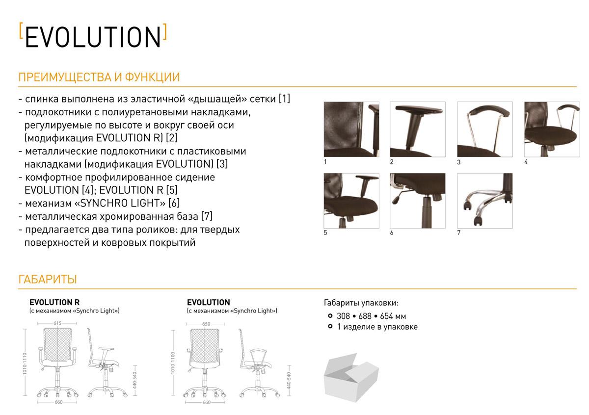 Фото Кресло «EVOLUTION R TS AL68» ZT Nowy styl - sofino.ua