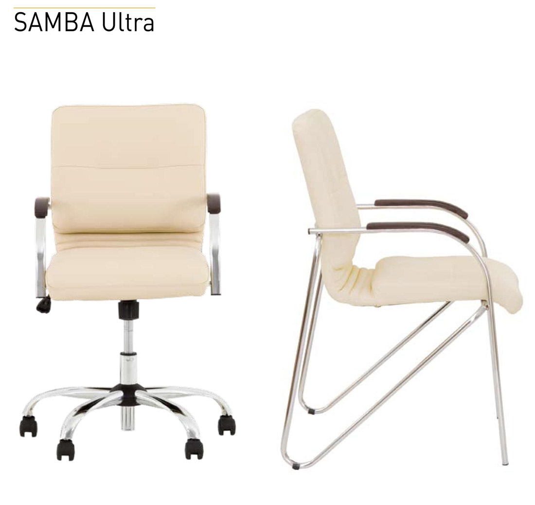 Фото Кресло «SAMBA ULTRA GTP Tilt CHR68» ECO Nowy styl - sofino.ua