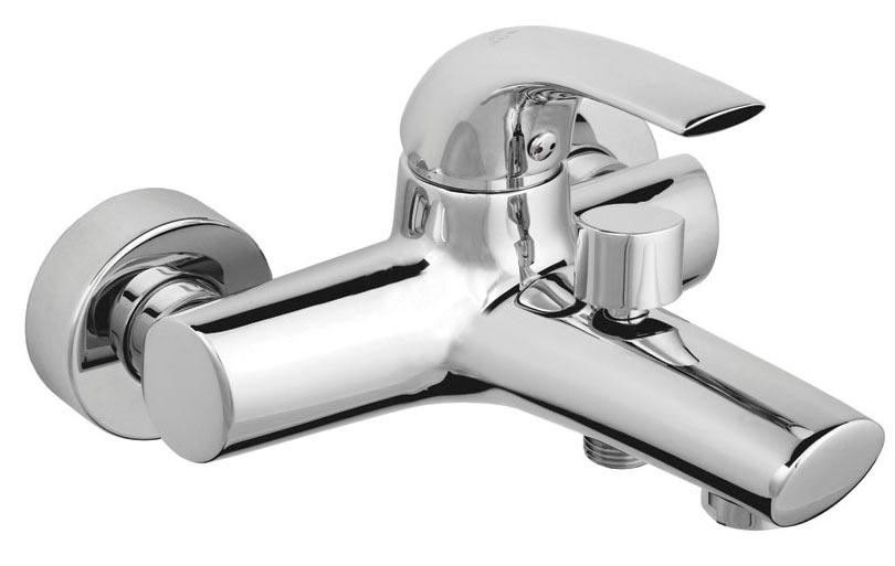 Фото Смеситель для ванны 540013 «Forte-10» корпус - монолит, без лейки шланга Rubineta - sofino.ua