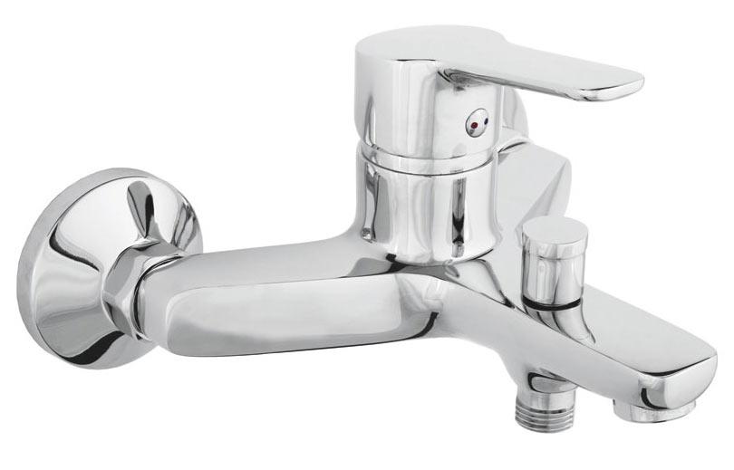 Фото Смеситель для ванны N10001 «Uno-10» корпус - монолит, без лейки шланга Rubineta - sofino.ua