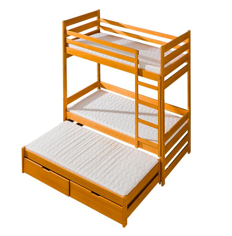 Фото Двухъярусная кровать «Филип» 80*190 Dolmar - sofino.ua