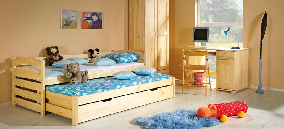 Фото Кровать «Толек» 80*190 Dolmar - sofino.ua