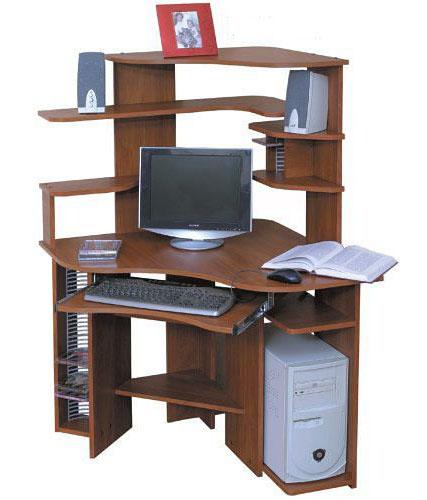Фото Компьютерный стол «Ганимед» NIKA мебель - sofino.ua