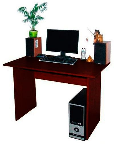 Фото Компьютерный стол «Юнона 110» NIKA мебель - sofino.ua