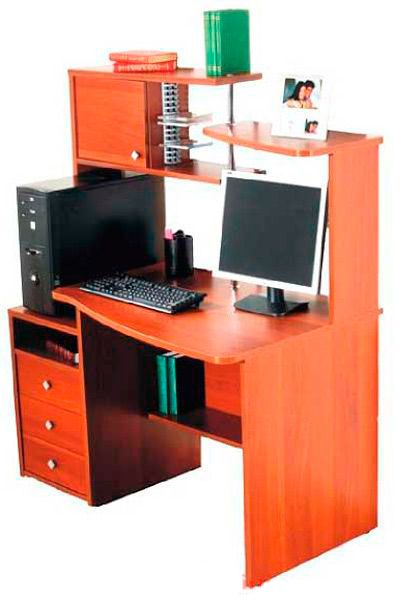 Фото Компьютерный стол «Никс» NIKA мебель - sofino.ua