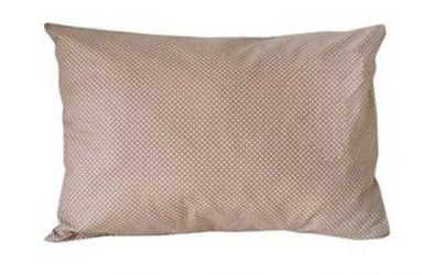 Наволочка «Горох коричневый» 50*70 см