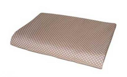 Простынь «Горох коричневый» 145*215 см