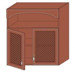 Тумба-сушка верх 800 2Д решетки (без сушки) «Юля»
