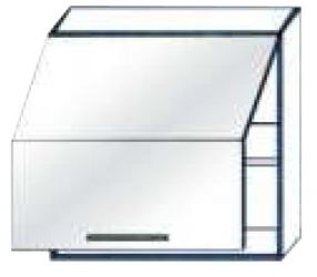 Тумба-сушка верх 600 2Д витрина «Юля Модерн»