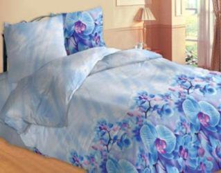 Комплект «Орхидея голубая» полуторный