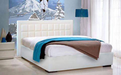 Ліжко для спальні Новелті Спарта м'яке