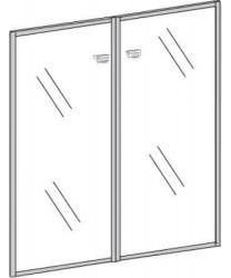 Двери стеклянные П802 «Premier» 91.6*120.8