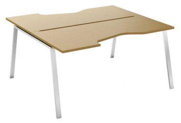 Стол письменный угловой двухсторонний MN207V «Megan» 80*120