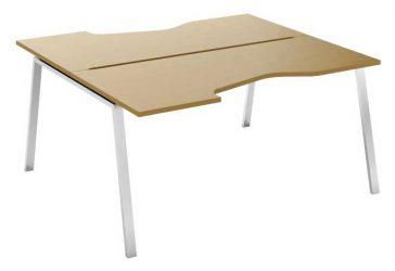 Стол письменный угловой двухсторонний MN207V «Megan»