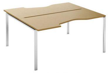 Стол письменный угловой двухсторонний MN207W «Megan» 120