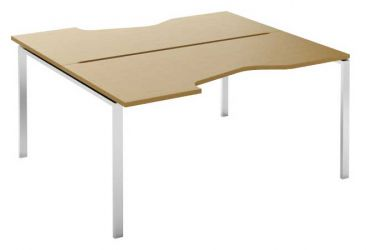 Стол письменный угловой двухсторонний MN207W «Megan»