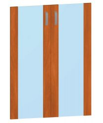 Двери стеклянные М806 «Mega»
