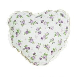 Подушка-сердце «Lilac Rose»