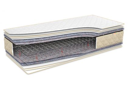 Матрац Еталон Лайт 60x120 см, висота 22 см (середньої жорсткості)