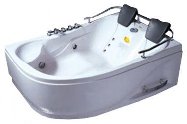 Ванна угловая «024851» рама + ножки + лицевая панель 180*124 правая