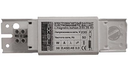 Балласт электромагнитный 230.4.6.8 «l010012»