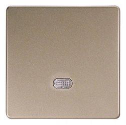 Кнопка e.lux.11651L.pn.l.nickel «ins0040007» одинарная с подсветкой