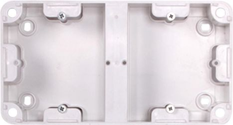 Коробка установочная двойная «236» внешний монтаж 220В