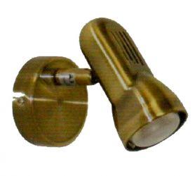 Спот НББ 98698 01-40-285, 1х40 Вт, Е14/R50, бронза