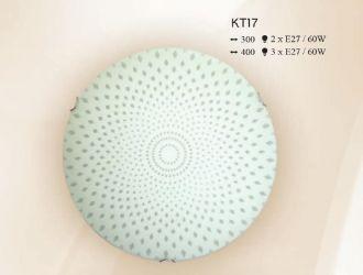 Люстра потолочная 12440 НПБ 01-3х60-124 «КТ17 д40»