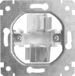 Механизм розетки 2+1 e.mz.16172.rj.12.45 «ins0010036»