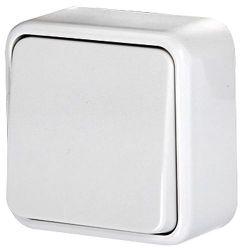 Переключатель одноклавишный e.touch.1121.w.blister «p043005» лестничный