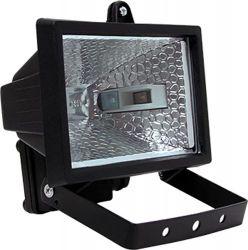 Прожектор галогенный e.halogen.500.black 500Вт «l003004»