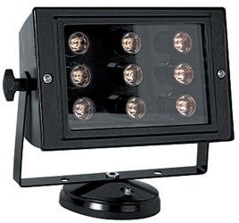 Прожектор светодиодный e.light.LED.150.9.9.2700.black «l0800002»