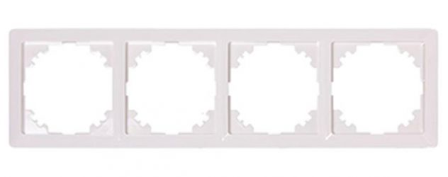 Рамка e.lux.10084L.4.fr.white «ins0040057»