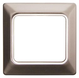 Рамка для влагозащищенной розетки e.lux.12094L.1.fr.wp.nikel «ins0040086»