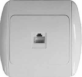 Розетка компьютерная e.install.stand.819С1 «s035015»