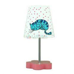 Лампа настольная 41-43637 «Cat» розовый