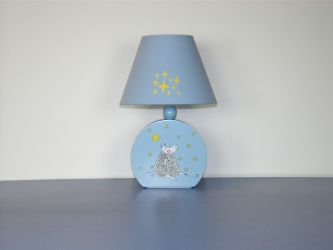 Лампа настольная 41-25206 «Dolly» голубой