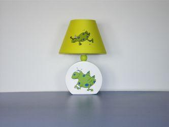Лампа настольная 41-25282 «Frog» зеленая