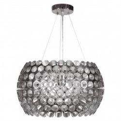 Лампа подвесная 31-94097 «Abros» 40 серебряный