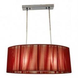Лампа подвесная 32-10059 «Artemis» красный