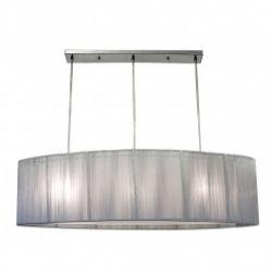 Лампа подвесная 33-10158 «Artemis» серебряный