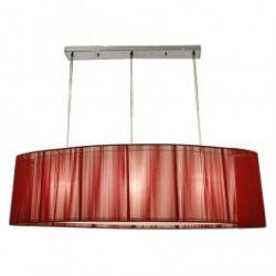 Лампа подвесная 33-10073 «Artemis» красный