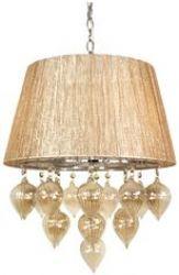 Лампа подвесная 33-04567 «Elissa» янтарь
