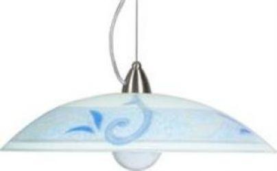 Лампа подвесная 31-55494 «Regina» 40 голубой