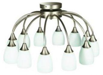Лампа подвесная 30-78950 «Sfera» никель