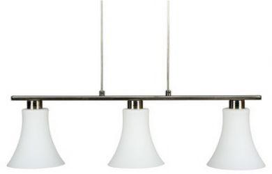 Лампа подвесная 33-02849 «Veneto» никель
